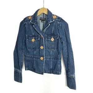 Mixit Womens Jean Jacket Mix It